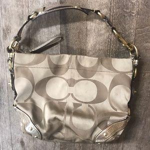 COACH Carly Signature Handbag